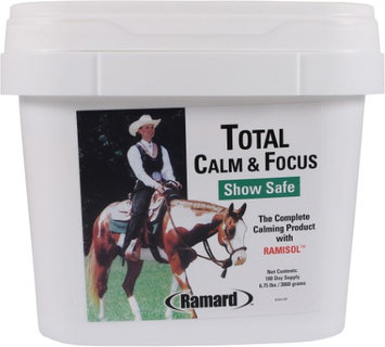 Ramard Inc TOTAL CALM & FOCUS SHOW SAFE SUPPLEMENT FOR HORSES 6.75 LB/180 DAY
