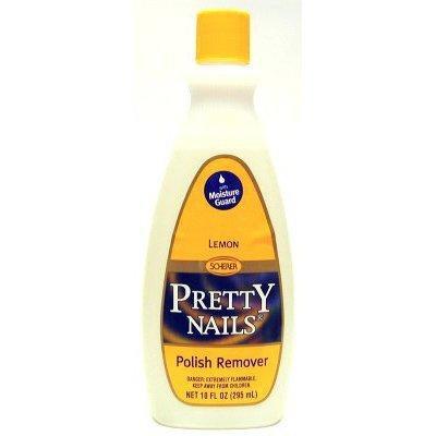 Pretty Nails (Pack of 12) 10 oz. Lemon Polish Remover