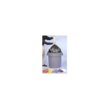 Inteplast SL3036XHW2 Low-Density Can Liner, 30 x 36, 30gal.7mil, White, 25/Roll, 8 Rolls/Carton