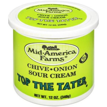 Mid-America Farms Chive-Onion Top The Tater Sour Cream, 12 oz