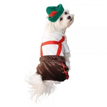 Anit Accessories AP1035-M Lederhosen Pet Costume- Size Medium