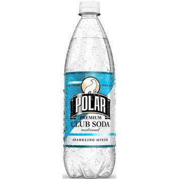 Polar Club Soda, 33.8 Fl Oz (Pack of 12)