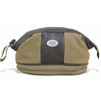 Mississippi State Toiletry Bag Waxed Canvas 15 X 16 X 8