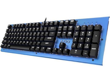 Azio Corporation AZIO MK-HUE-BU Blue Wired Keyboard