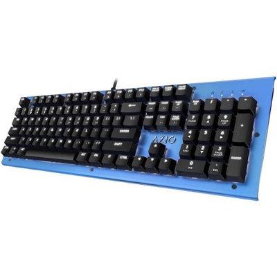 Azio Corporation AZIO MK-HUE-BU Blue Wired Keyboard
