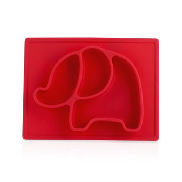 Luv N' Care, Ltd. Nuby Sure Grip Animal Placemat, Red Elephant