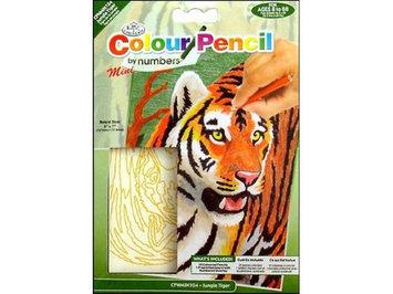 NOTM324676 - Mini Color Pencil By Number Kit 5''X7''