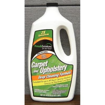 Fresh Solutions Allergy Complete Carpet & Upholstery Det 64oz 2X- Pack of 4