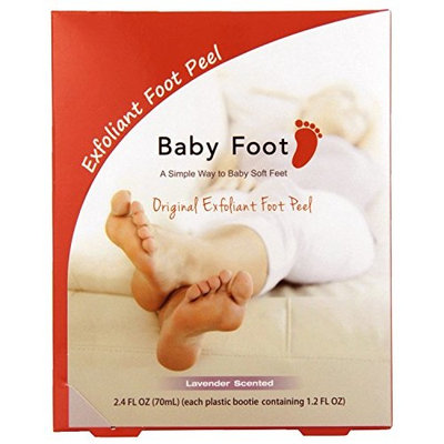 Baby Foot Scented Foot Care, Lavender 4 count