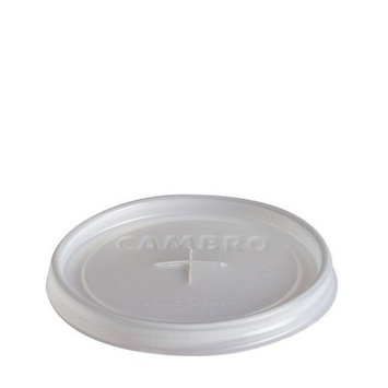 Xslot Plas Cup Lid F/8.5Oz No Hole Trans 1000