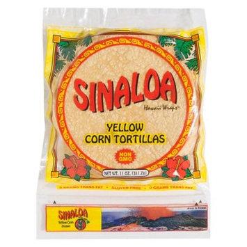 Sinaloa Hawaii Wraps™ Yellow Corn Tortillas 11 oz