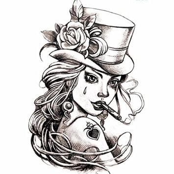 CYCTECH Tattoo sticker, Temporary Non-toxic Tattoo Stickers Body Art Waterproof