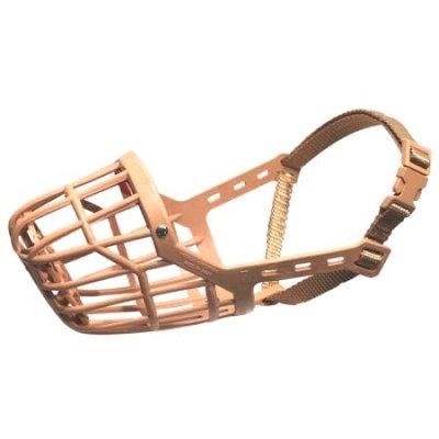 Pet Supply Imports Plastic Basket Muzzle 6 Tan 29906