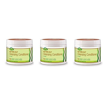 (PACK OF 3) Sof N Free Gro Healthy Nothing But Cleansing Conditioner, 16 Ounce : Beauty