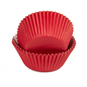 Chef Craft Baking Cups, Bright Red, 50 Ct