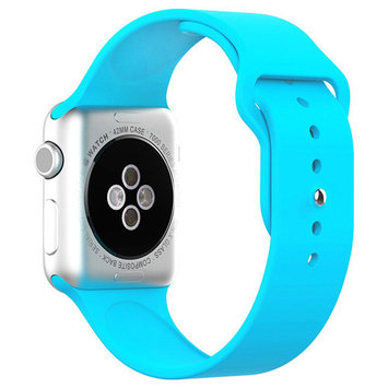 Beikel Apple Watch 3 42mm Soft Silicone Replacement Sport Band for Apple Watch Series 1 2 & 3