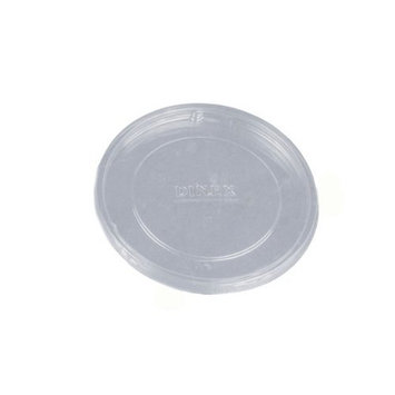 Dinex DX11858700 Classic Polystyrene Disposable Flat Lid, 2-3/4 Diameter, Clear, For 12oz Insulated Bowls (Case of 1000)