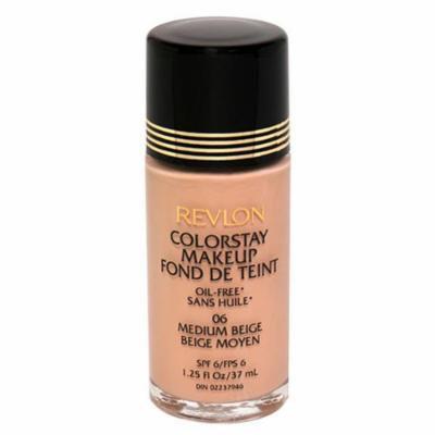 Revlon ColorStay Oil Free Makeup SPF 6, Medium Beige - 1.25 Fluid Ounces