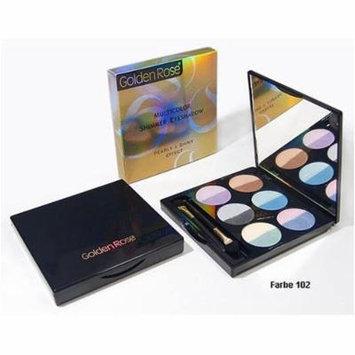 Golden Rose Multicolour Shimmer Eyeshadow 02