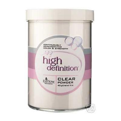 Ez Flow Hd Acrylic Nail Powder Clear 16. Oz