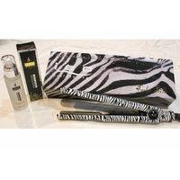 ISO Turbo Silk Limited Edition 1 inch Flat Iron WHITE ZEBRA