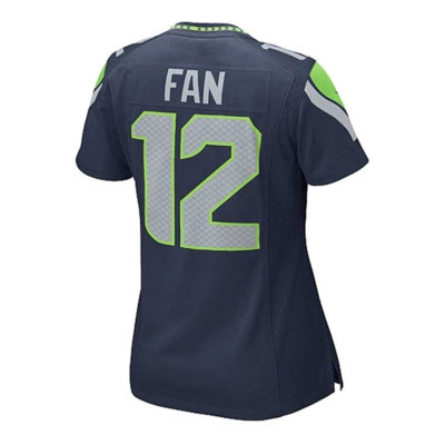Nike Women's Twelfth Man Seattle Seahawks Game Jersey
