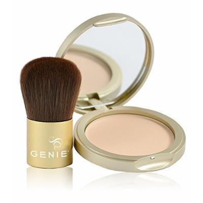Genie Cashmere Powder Intro Kit (9 Grams & Large Kabuki Brush)