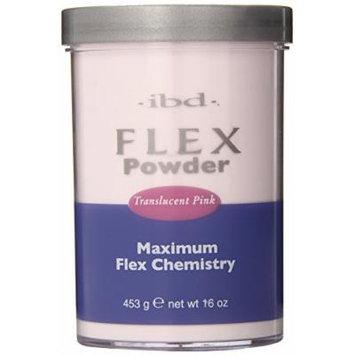 IBD Flex 71827 Translucent Powder, Pink, 16 Ounce