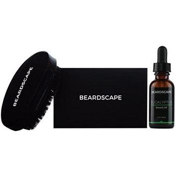 Beardscape Beard Brush Starter Kit (Eucalyptus)