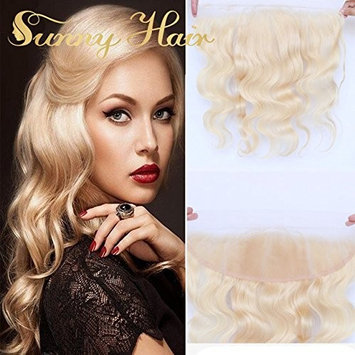 Sunny 13x4 Lace Frontal Closure 613 Blonde Lace Frontal With Baby Hair Bleached 18