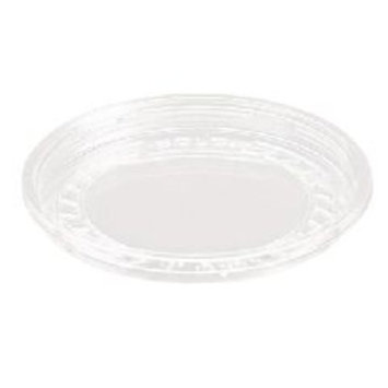 Dart Bare Eco-Forward RPET Deli Container Lids, 8oz, Clear, 50/Pack, 10 Packs/Carton -SCCLG8R