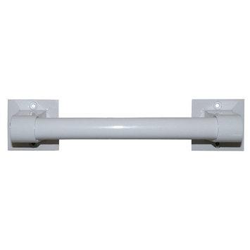 LDR 068 0009WT Exquisite SAFETY Grab bar, 9 x 7/8