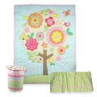 Triboro Jill McDonald Lullaby Breeze Fleece Blanket