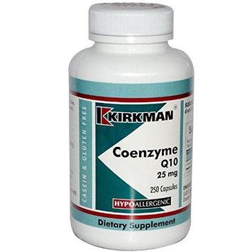 Kirkman Coenzyme Q10 -- 25 mg - 250 Capsules