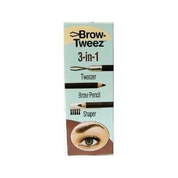 Physicians Formula Brow-tweeze 3-in-1 Tweezer.pencil.shaper, Dark Brown, 0.027-Ounces (Pack of 2)