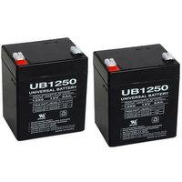 Universal Power Group ENERSYS YUA NP512 12V 5AH BATTERY - 2 Pack