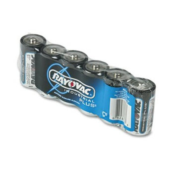 Rayovac Battery Industrial Alkaline Shrink Wrapped Size C 6 Pack