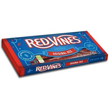 Red Vines Original Red Twist Candy - 5 oz. tray, 12 per case