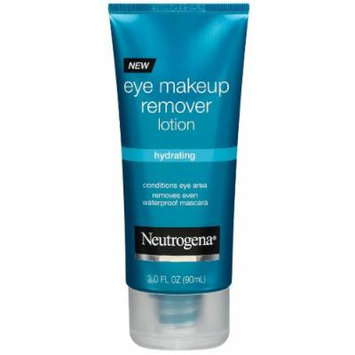Neutrogena Hydrating Eye Makeup Remover Lotion, 3 Ounce (Pack of 3)