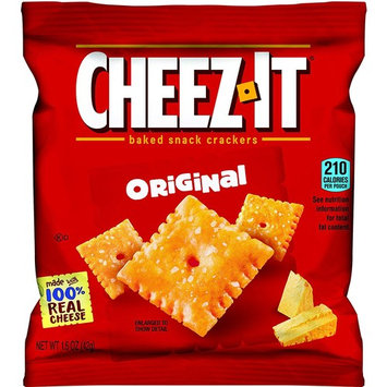 Original Cheez-It Bulk 80 Count Sampler Pack, Baked Snack Crackers