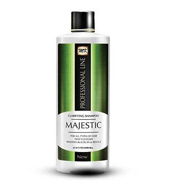 Majestic Clarifying Shampoo 33.8oz (1000ml)- Before Treatment