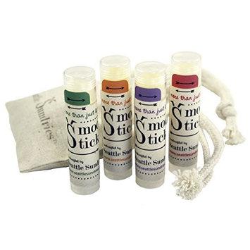 Smooch Stick Natural Lip Balm Sampler Gift Set by Seattle Sundries