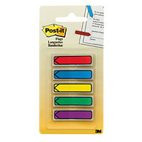 3m 1/2 Post-It Arrow Flags Assorted Primary Colors 5
