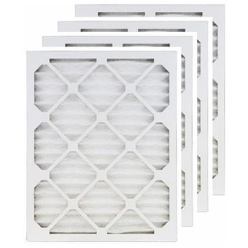 Filters-now 16x18x1 (Actual Size) MERV 13 Air Filter/Furnace Filters (4 pack)