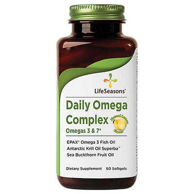 Daily Omega Complex Omegas 3 & 7 Life Seasons 60 Softgel