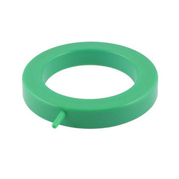Green Plastic Shell 12.5cm OD Aquarium Tanks Round Oxygen Bubble Air Stone