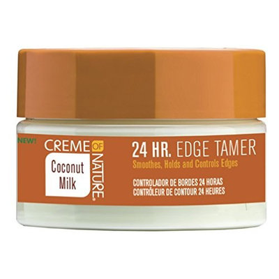 Creme Of Nature Coconut Milk 24Hr Edge Tamer 2.25 Ounce (66ml) (6 Pack)