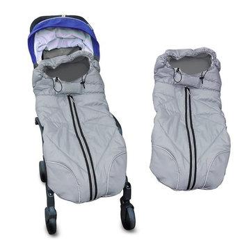 Waterproof Universal Baby Stroller Sleeping Bag Footmuff Sack Grey by Berocia