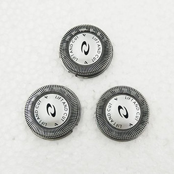 Generic Replacement Shaver Heads Fit for Philips HQ56 HQ55 HQ4 HQ3 HQ6 HQ6405 HQ916 (Pack of 3)