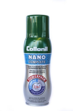 Collonil Nano Complete 3 in 1 Leather Cleaning, Care & Waterproofing Foam, 300ml
